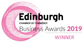 Award winning tour company logo as won by Mercat Tours for Responsible Business of the Year