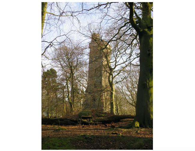 Edinburgh History   Corstorphine Hill & Clermiston Tower