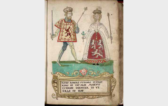 robert ii of scotland and euphemia de ross